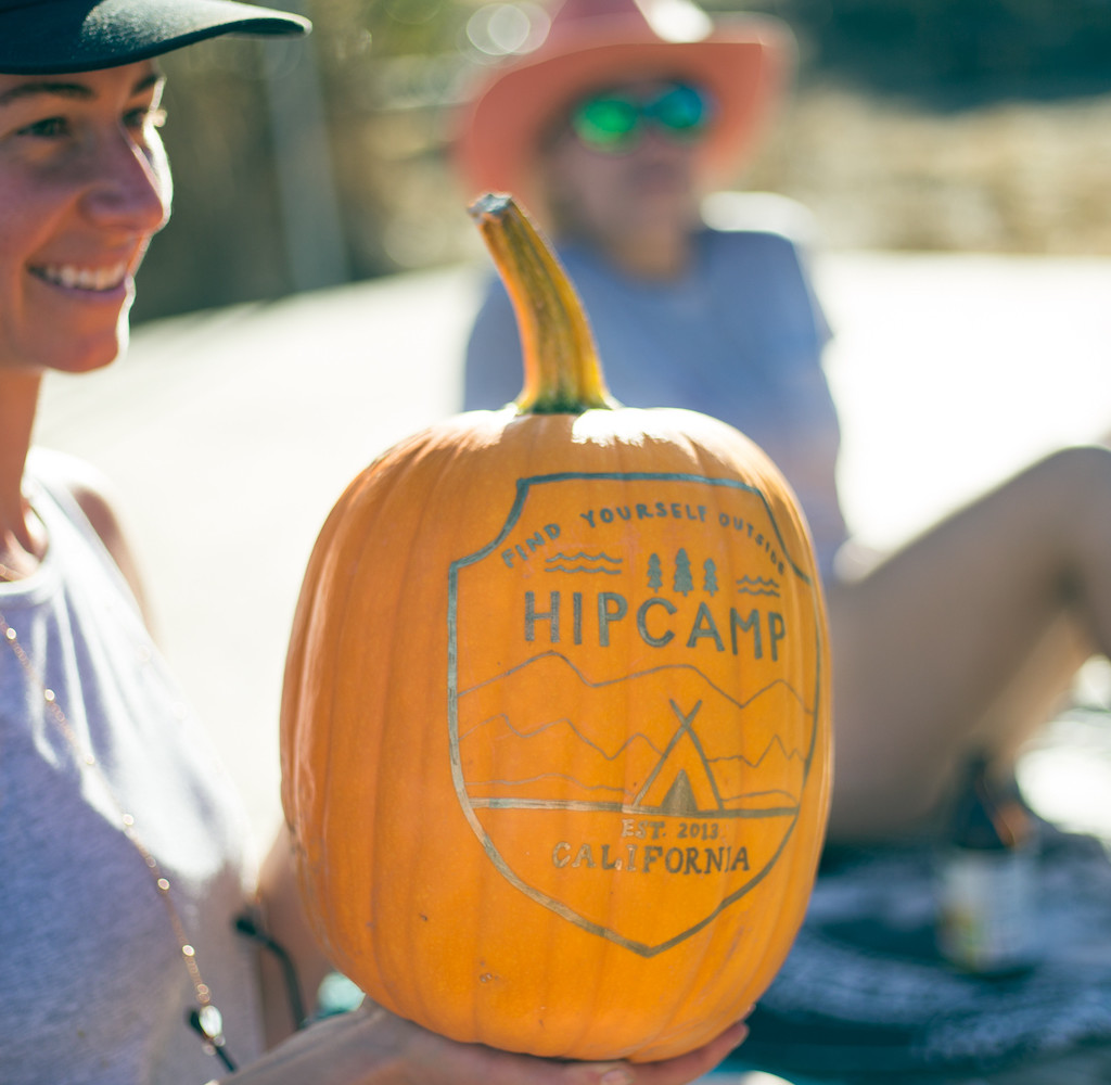 Hipcamping for Halloween