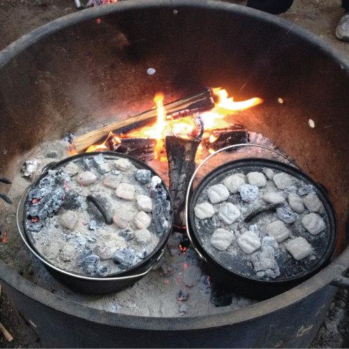 Dutch Oven Indian Spiced Chicken