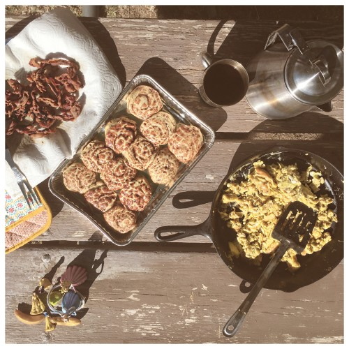 Sweet and Savory Camp Breakfast