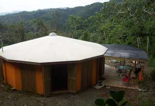 Round House in the Cloud Forest