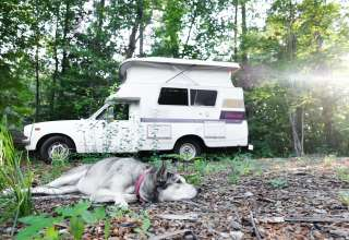Woodsy lake area RV getaway
