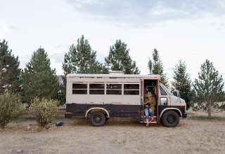 Last Chance Camp, Lodging & Bus