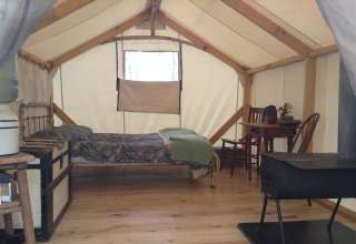 Song Sparrow Glamping Tent