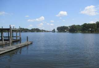 Waterfront Land with Dock