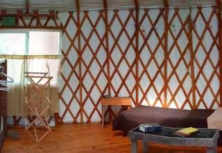 Urban Paradise in a Yurt