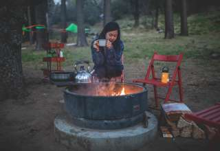 Tree Tent Glamping in Julian Ca