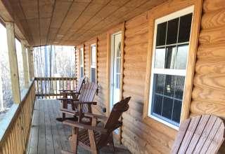 Asher Road Log Cabin