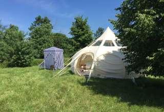 Lulabelle Tent at Art Farm