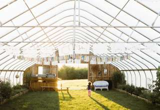 High End Glamping, Organic Farm