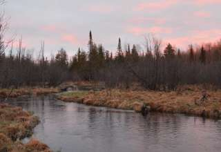 Camp 437 in the Sturgeon Valley