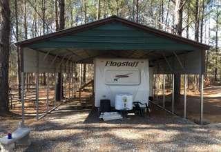 Camp Buckhaven:  population 1