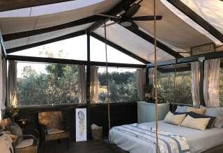 Rocky Cyn Ranch Glamping Tent