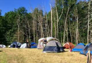 Campsites on Catamount