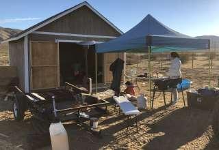 Pacific Crest trail rest camp