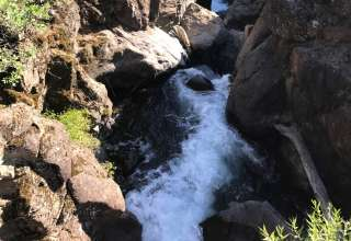 Montgomery Creek Falls !