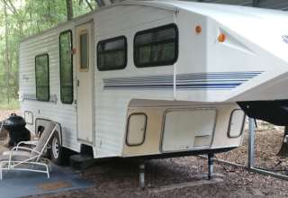 The Camper at The Funny Farm