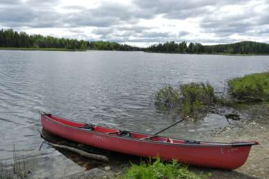 Nancy Lake Canoe Trail Campground