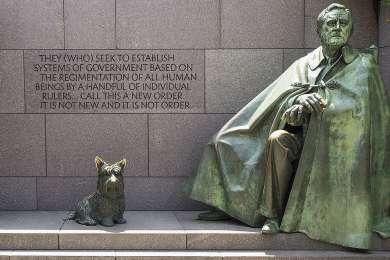 Franklin Delano Roosevelt Memorial Memorial