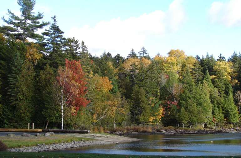 Lily Bay State Park