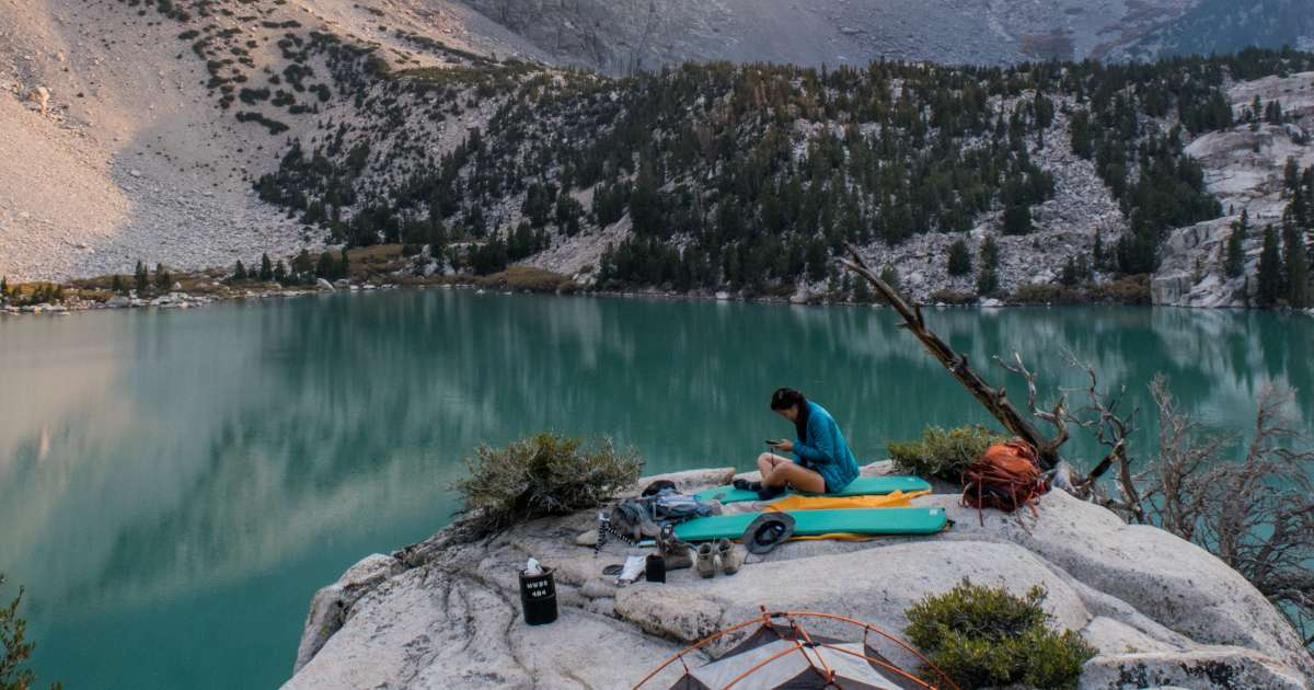 Big Pine Creek Campground, Inyo, CA