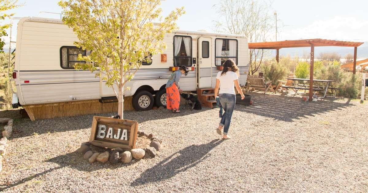 colorful baja camper paradise shores camp ca 4 hipcamper reviews and 51 photos. Black Bedroom Furniture Sets. Home Design Ideas