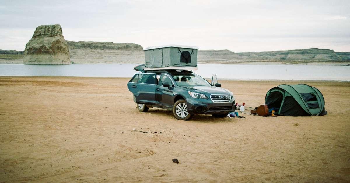 Lone Rock Beach Primitive Camping Glen Canyon Ut 12