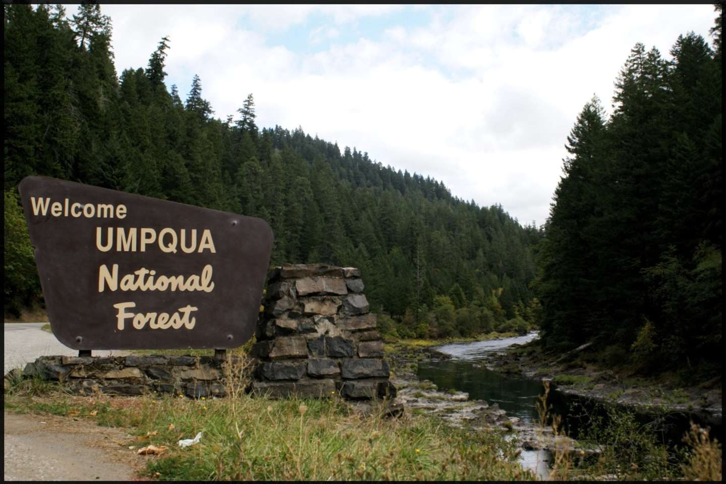 Canton Creek Campground Umpqua OR