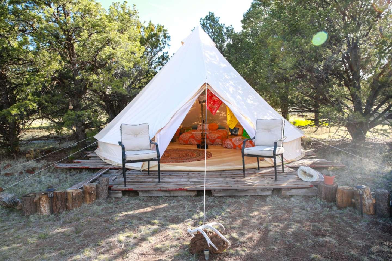 Grand Canyon Glamping Eco-Yurt #1