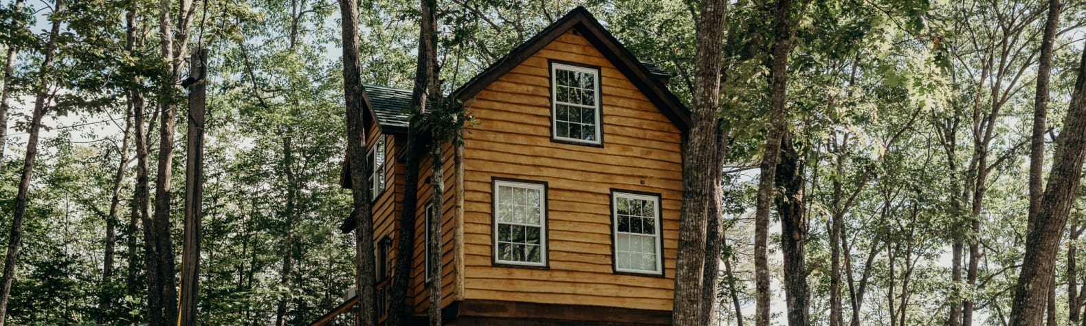 Maine Treehouse Rentals Camping