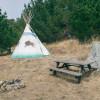 Buffalo Tipi Camp