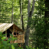 Hillside Tent Cabin in NC mtns