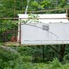 Tree house wall tent