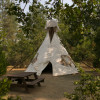 Lone Mountain Tipi Campground