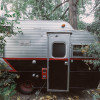 Vintage Trailer in Forest Falls
