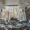 Primitive woods camping