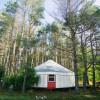 Adirondack FarmStay Yurt in Jay