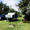 RV Camper Site on the Farm