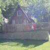 Rustic A-Frame Cabin