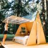Star A-Frame Tiny Cabin