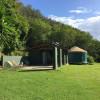 Waihuena Farm camp or glamp in yurt
