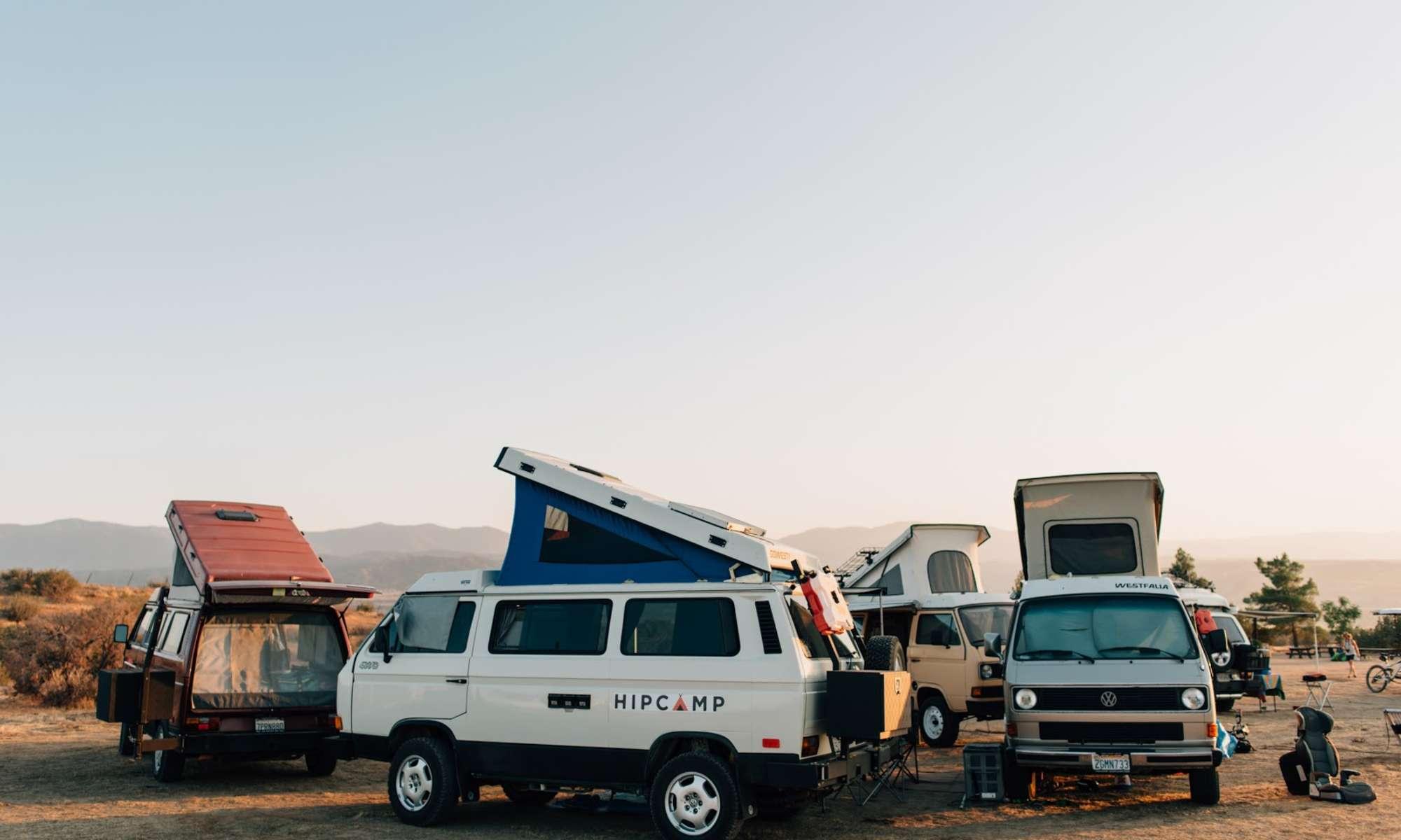 Hipcampout Summer Series: Van Life at Cuyama Badlands