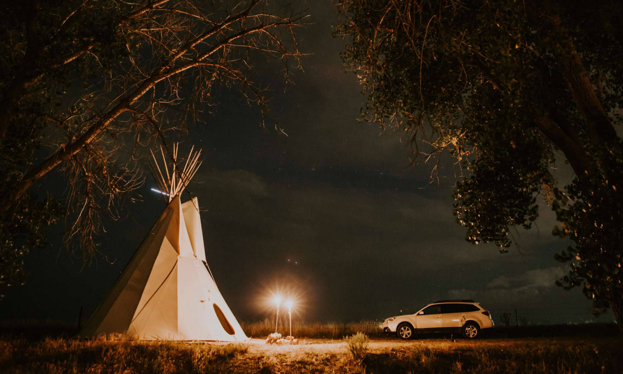 A Teepee, Horses and a Creek—oh my!