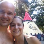 Hipcamp host Tamara and Stephen