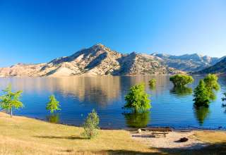 Best camping in and near kaweah lake for Lake kaweah fishing