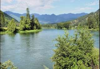 Libby Dam and Lake Koocanusa