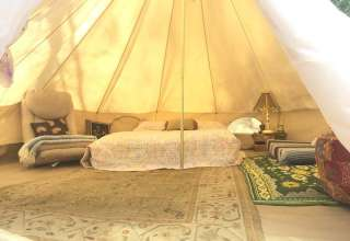 Love Yurt By The River