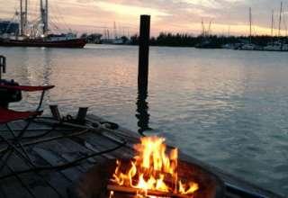 Sailboat Camping