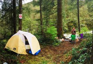 Naked Falls Exclusive Camping