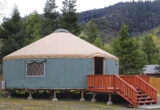 Yurt in the Trinity Wilderness