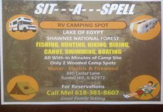 Sit-A-Spell Lake Egypt Camp